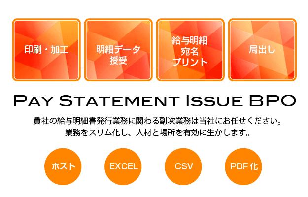 給与明細書発行BPO